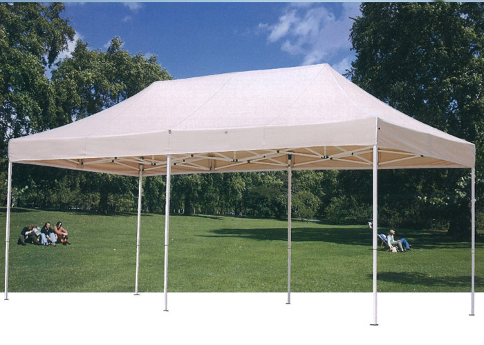 Easy Up Fold 3x6 Pop Up Gazebo Canopy Tent White For Exhibition , Outdoor Event